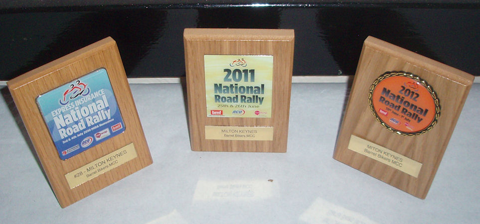 National Rally Awards for marshalling